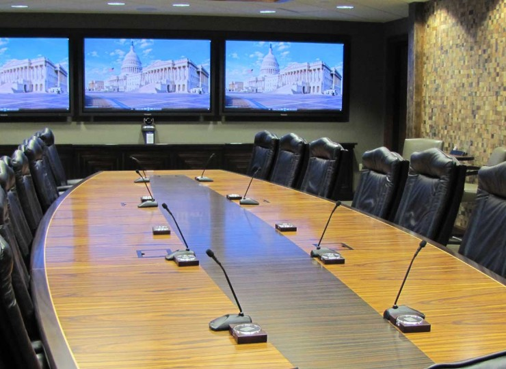 Community Trust Bank Boardroom